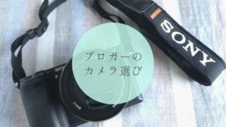 ブログ用のカメラを買うならミラーレス一眼SONY α6300がおすすめ!