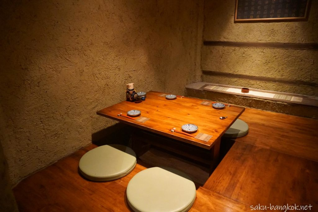 SASAYA シーロム店の個室