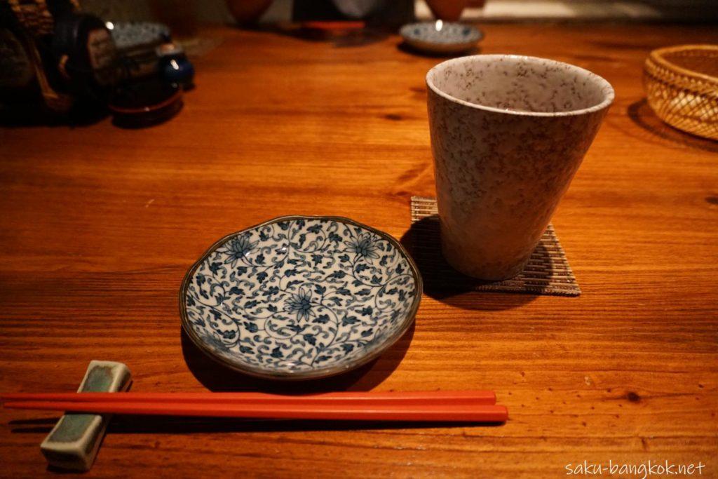 SASAYA シーロム店のお茶