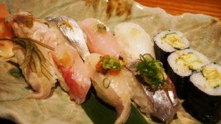 SASAYA シーロム店のお寿司ランチ