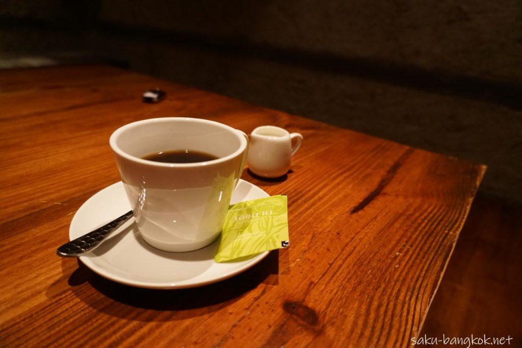 笹弥(SASAYA)シーロム店のランチセット 食後の珈琲