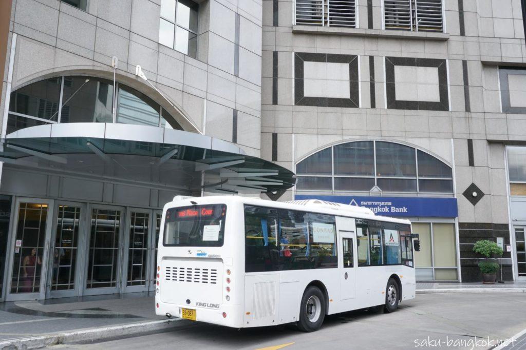 All Seasons Placeの無料シャトルバスの到着場所
