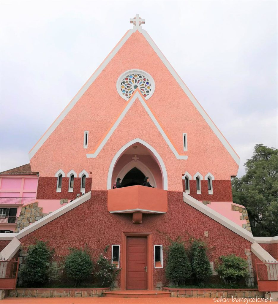 ダラットのドメーヌ ド マリー修道院
