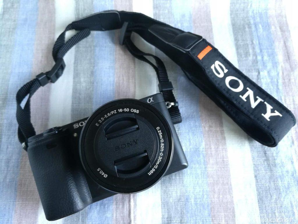 私のブログ用のカメラ ミラーレス一眼SONY α6300