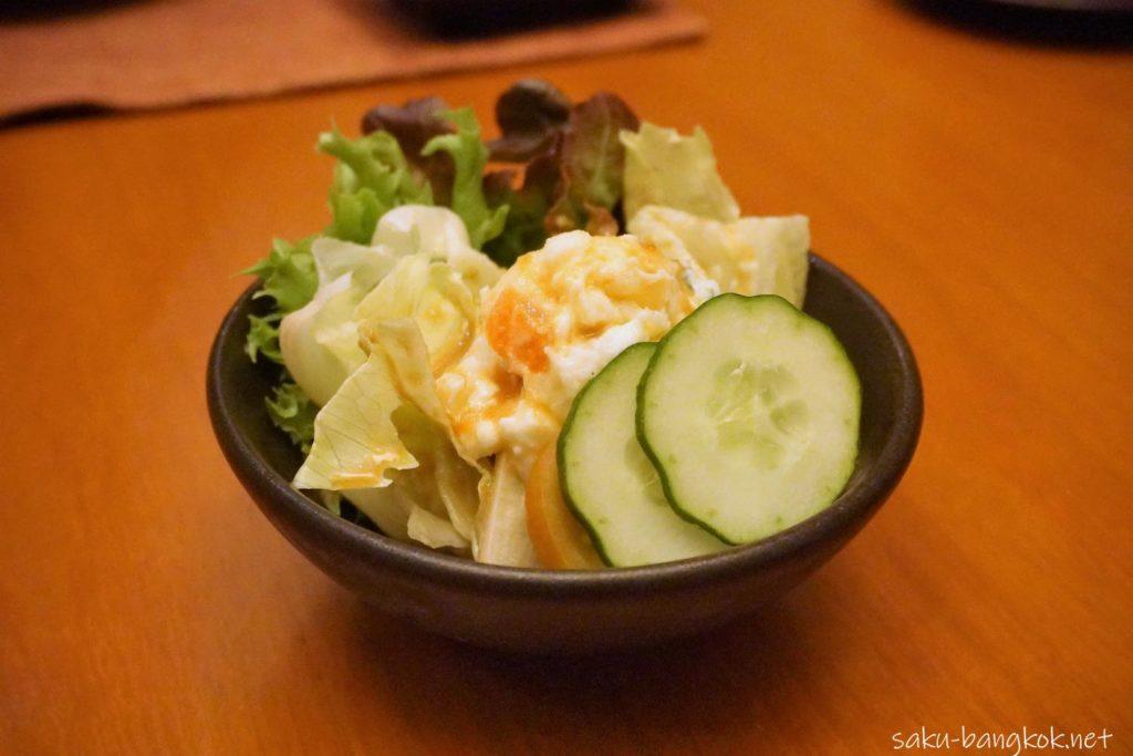 "KiSaraの""Sawachi Ryori"" Weekend Family Set Menuポテトサラダ"
