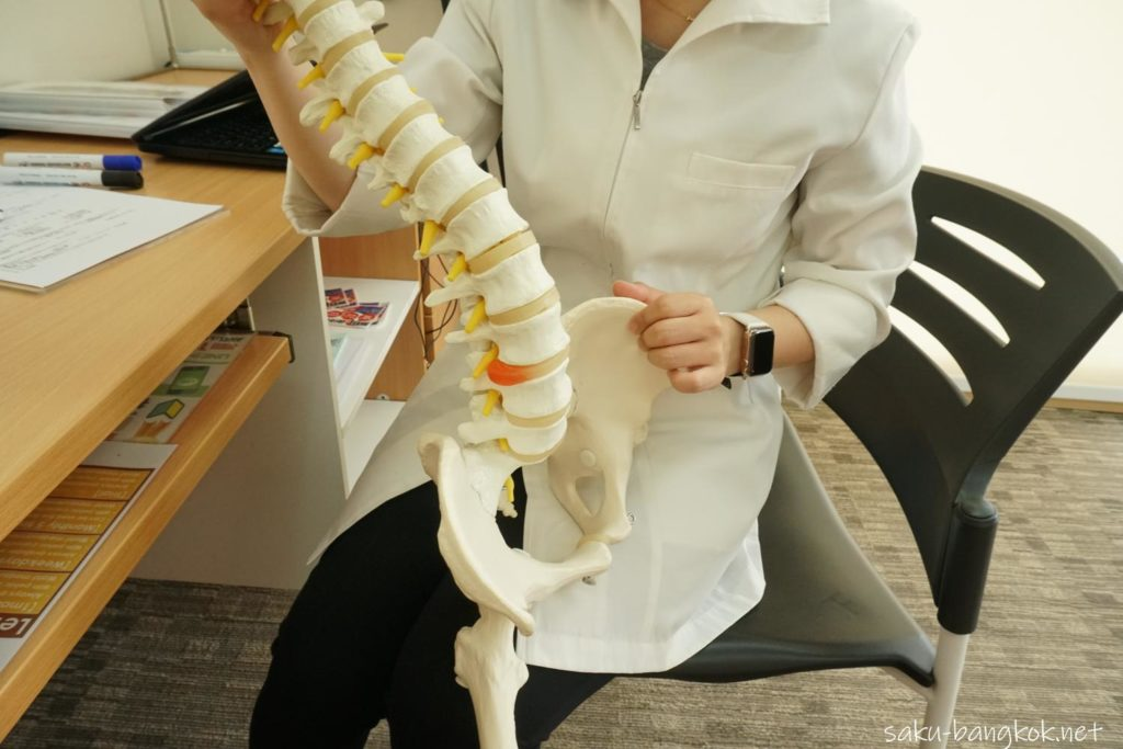 骨盤がゆがむとどうなるか説明してくれる女性院長