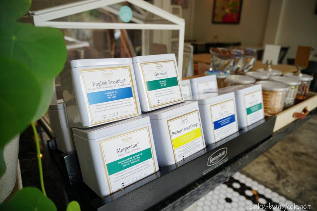 バンコク・トンブリー地区のカフェVacation のティー