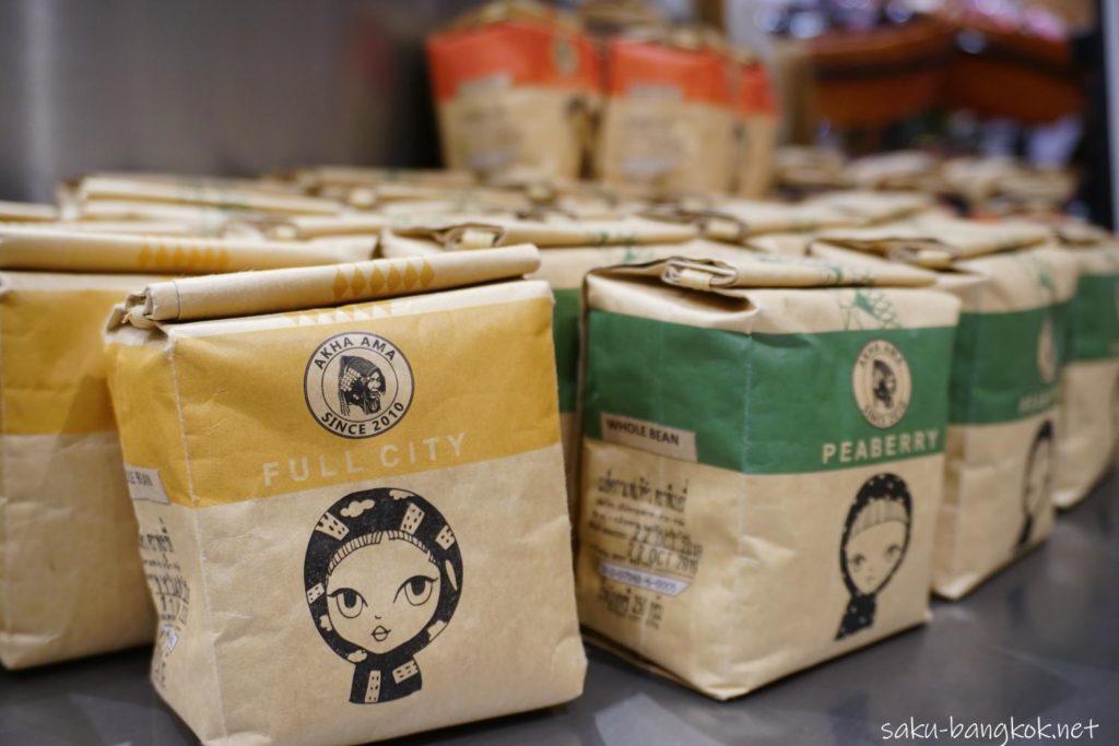 アイコンサイアム(ICONSIAM)のICONCRAFTで売ってるAKHA AMAコーヒー