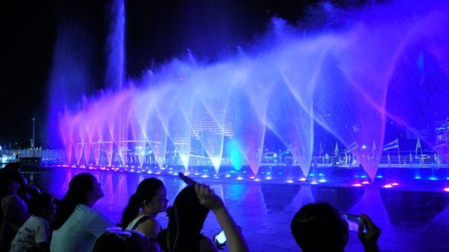 アイコンサイアム(ICONSIAM)の噴水ショー