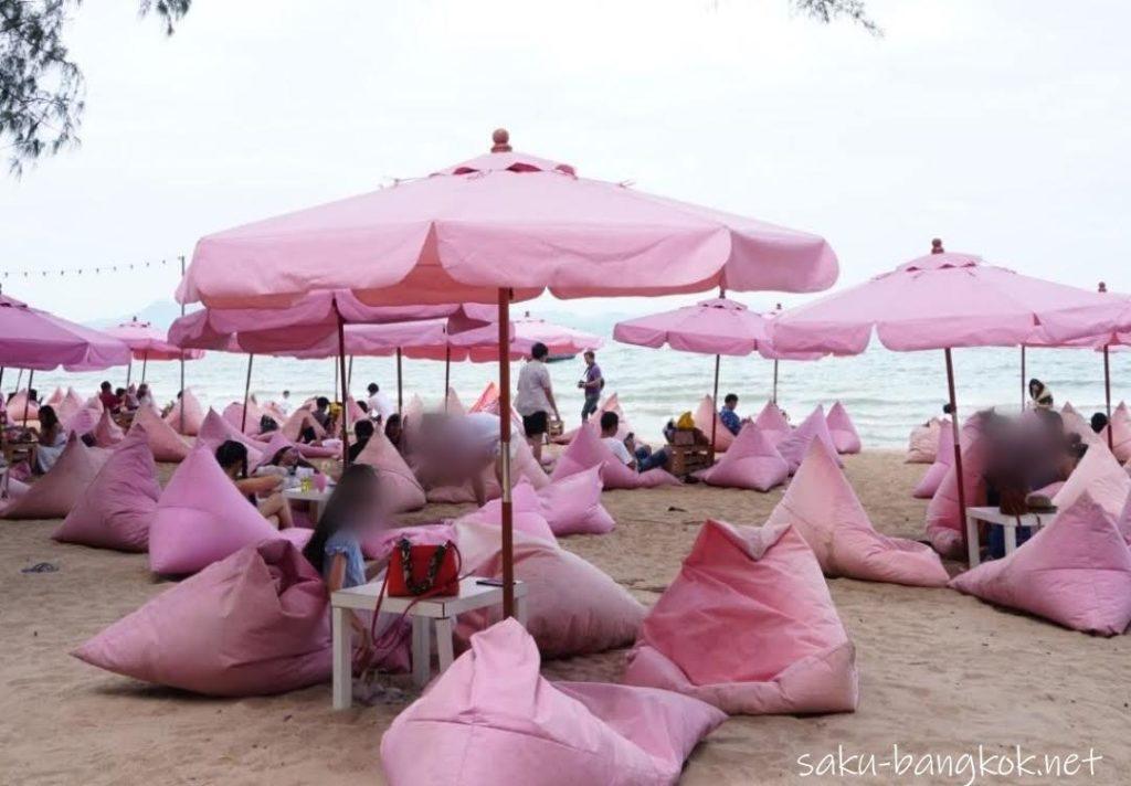 パタヤのピンクビーチTutu Beach