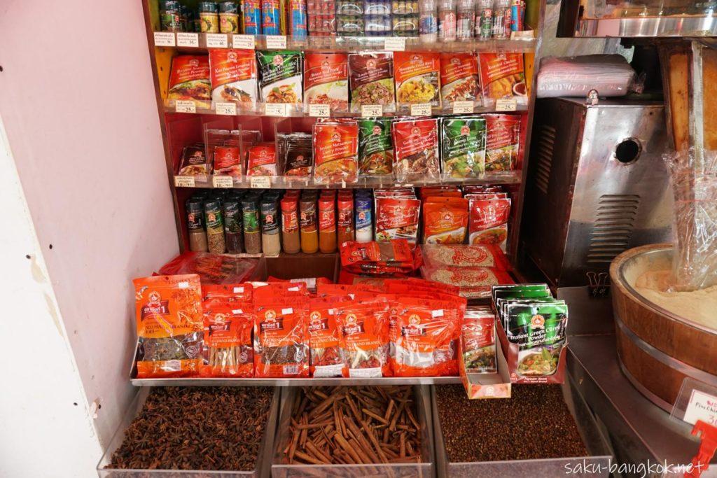 ヤワラートのスパイス専門店Nguan Soonのスパイス