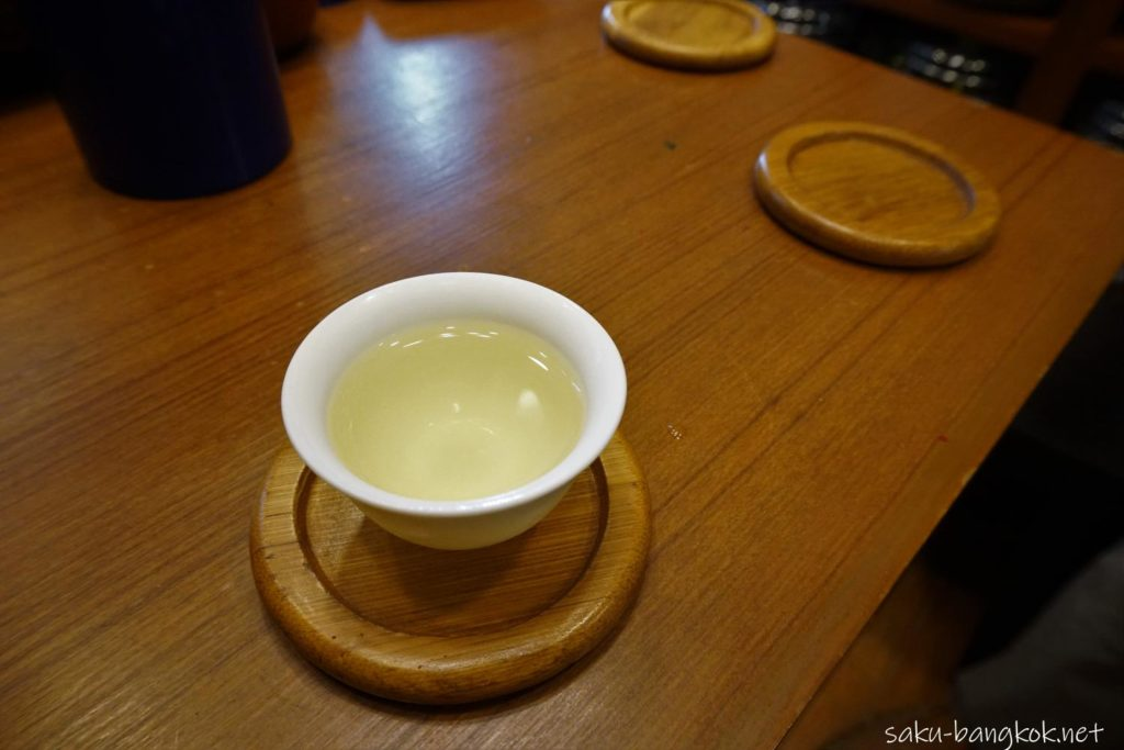試飲のお茶@SEN XING FA