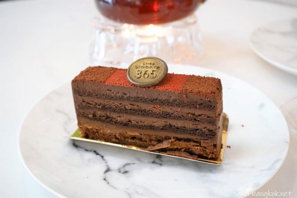 バンコクのケーキ屋さん シェ・シバタ365のチョコレートケーキ