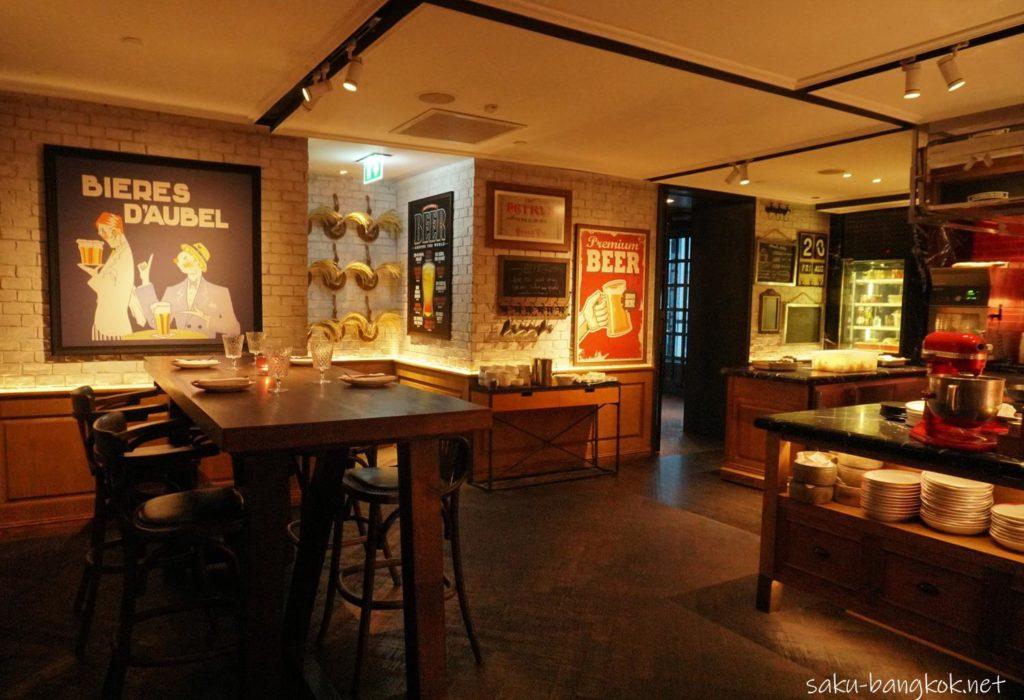 ベルギー料理レストラン&バーのBELGAの雰囲気