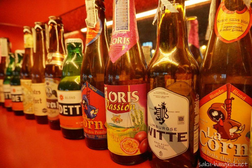 ナナの穴場ルーフトップバーBELGA 45種類のベルギービール