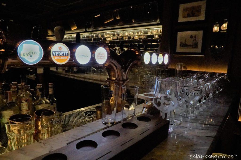 ナナの穴場ルーフトップバーBELGA ベルギーの生ビール