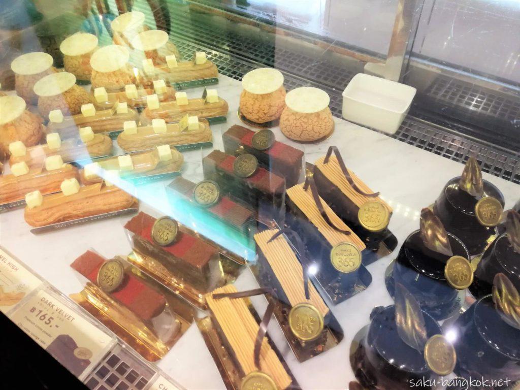 バンコクのケーキ屋さん シェ・シバタ365のケーキたち