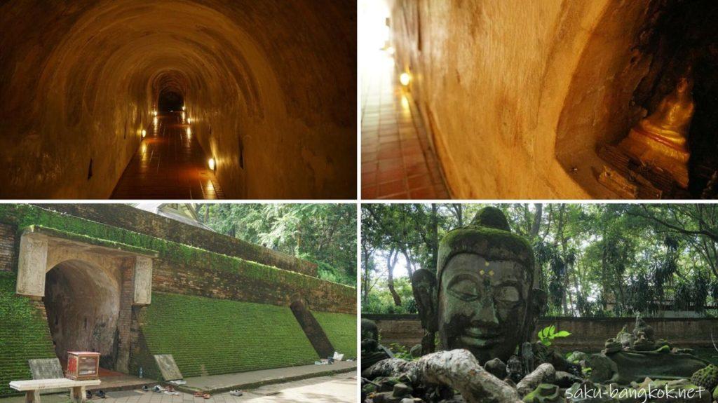 チェンマイの洞窟寺ワット・ウモーン