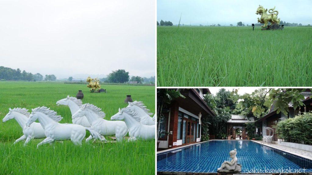 チェンマイ郊外のPhusanfah Resort