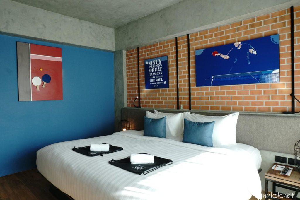チェンマイのシリパンワビラリゾートのお部屋