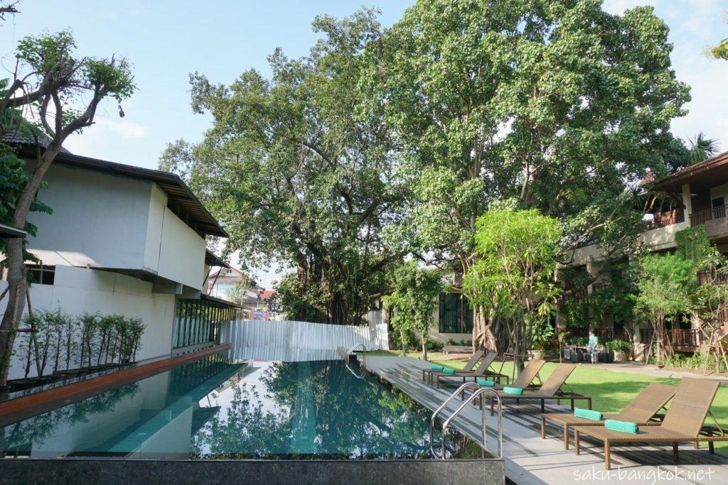 チェンマイホテル シリパンナ ヴィラ リゾート & スパ S Loftのプール