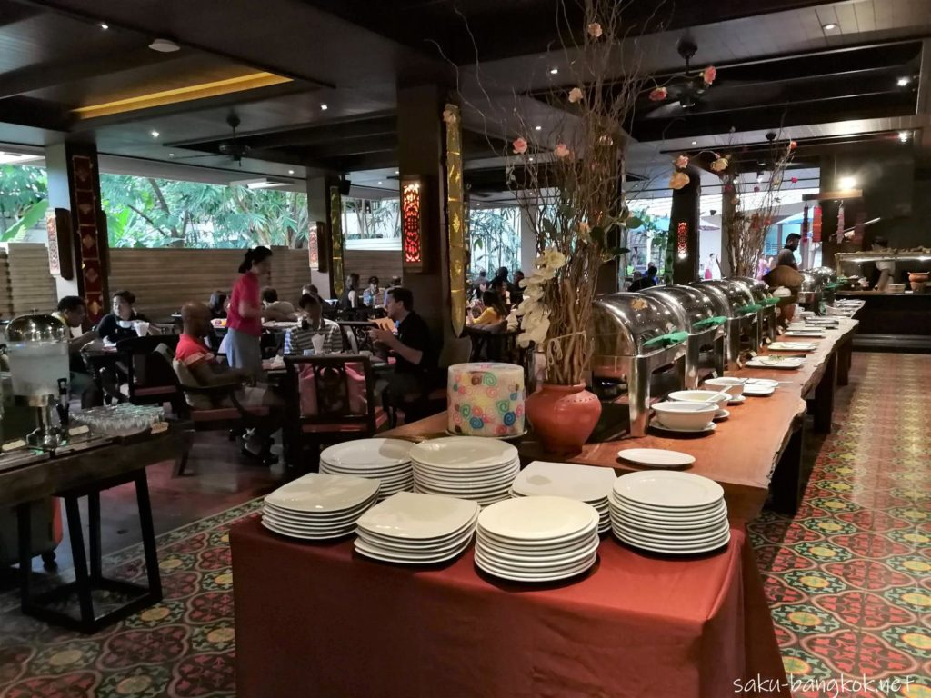 シリパンナ ヴィラ リゾート & スパの朝食ブッフェ