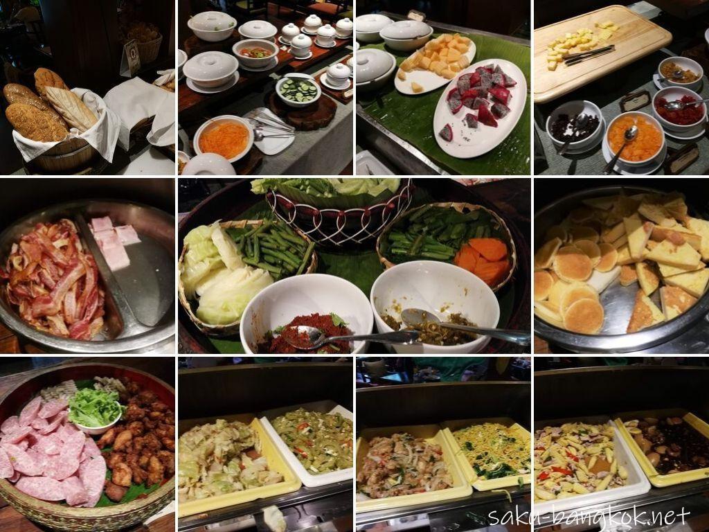 シリパンナ ヴィラ リゾート & スパの朝食