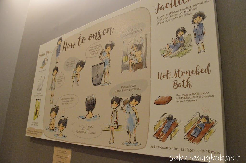 バンコク・レッツリラックス温泉&スパの利用のルール