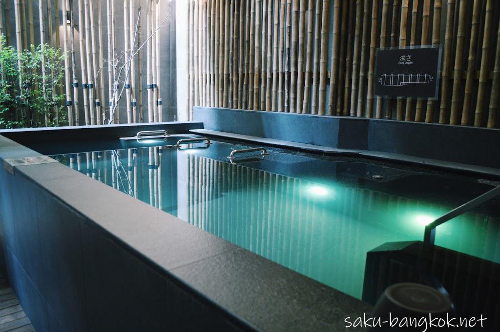 バンコク・レッツリラックス温泉&スパ バブル風呂