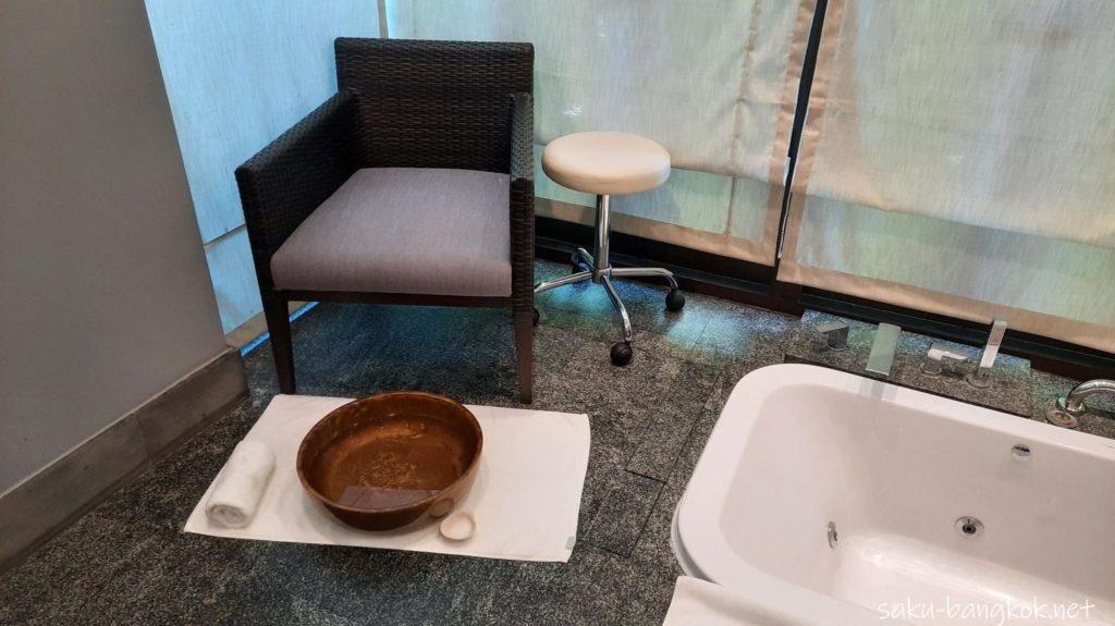 クアンスパ(Quan Spa) ラヨーンマリオットリゾート&スパ内 フットバス