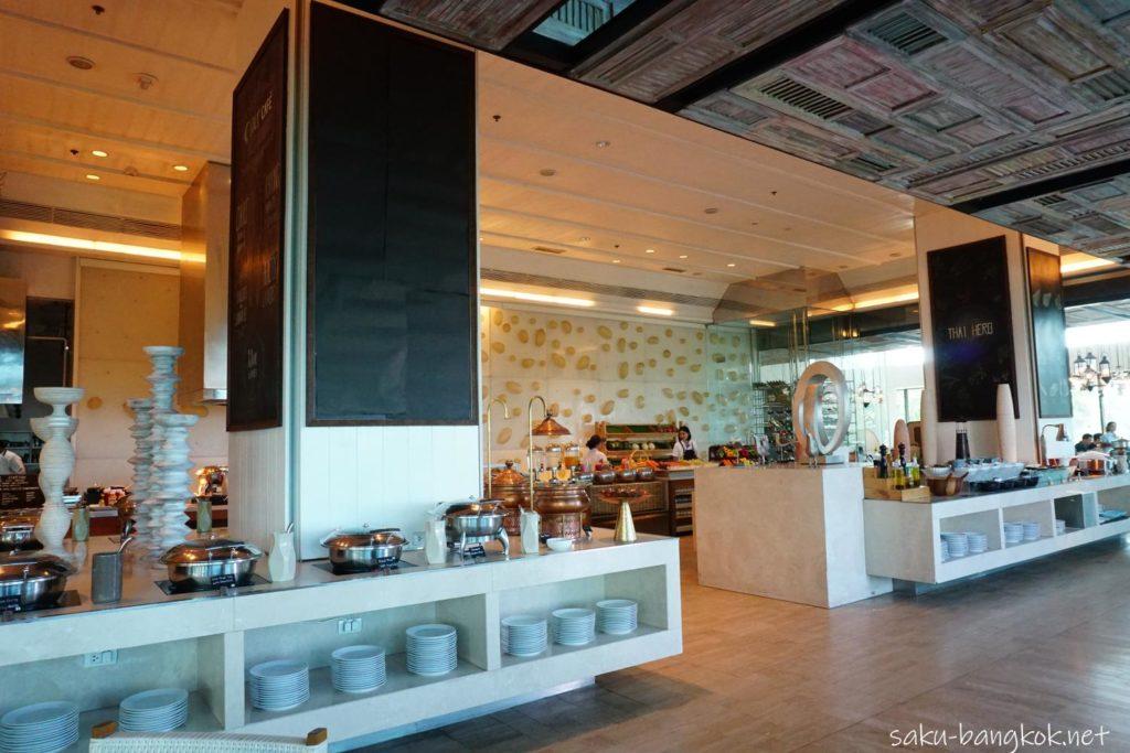 ラヨーンマリオットリゾート&スパ 朝食ブッフェ