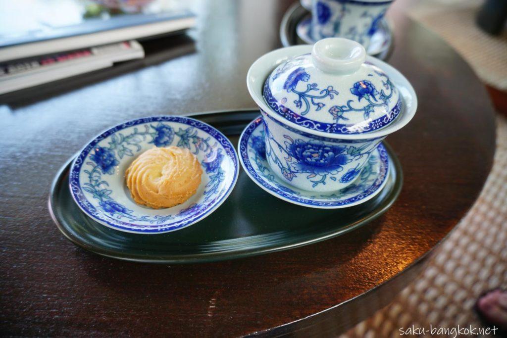 クアンスパ(Quan Spa) ラヨーンマリオットリゾート&スパ内 お茶とクッキー