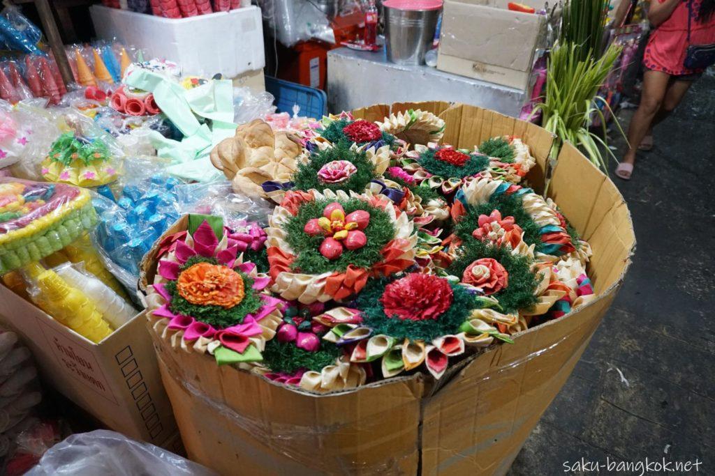 夜のパークローン花市場で売っていたクラトン