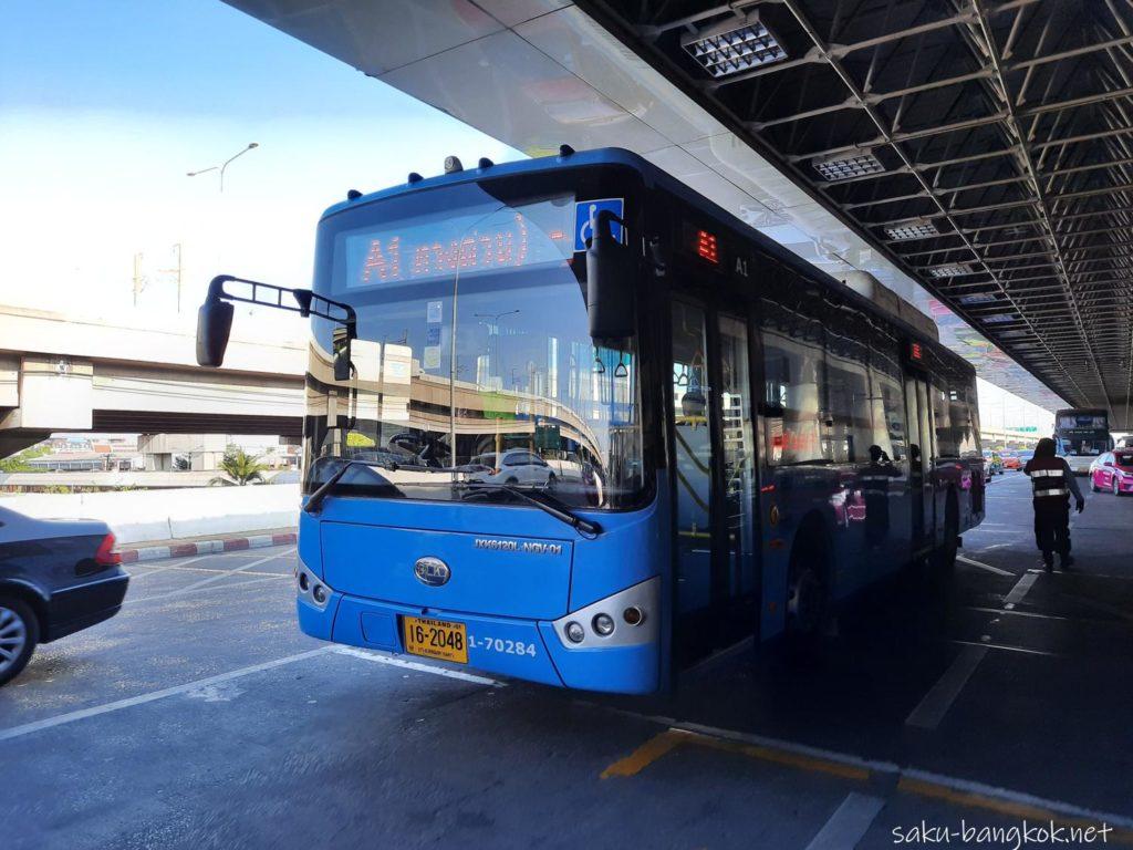 ドンムアン空港⇔バンコク市内の空港バス[A1,A2,A3,A4]
