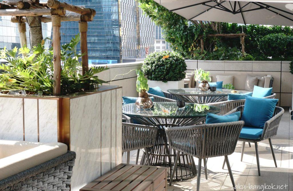 ローズウッドバンコク7階 Lakorn European Brasserieの雰囲気