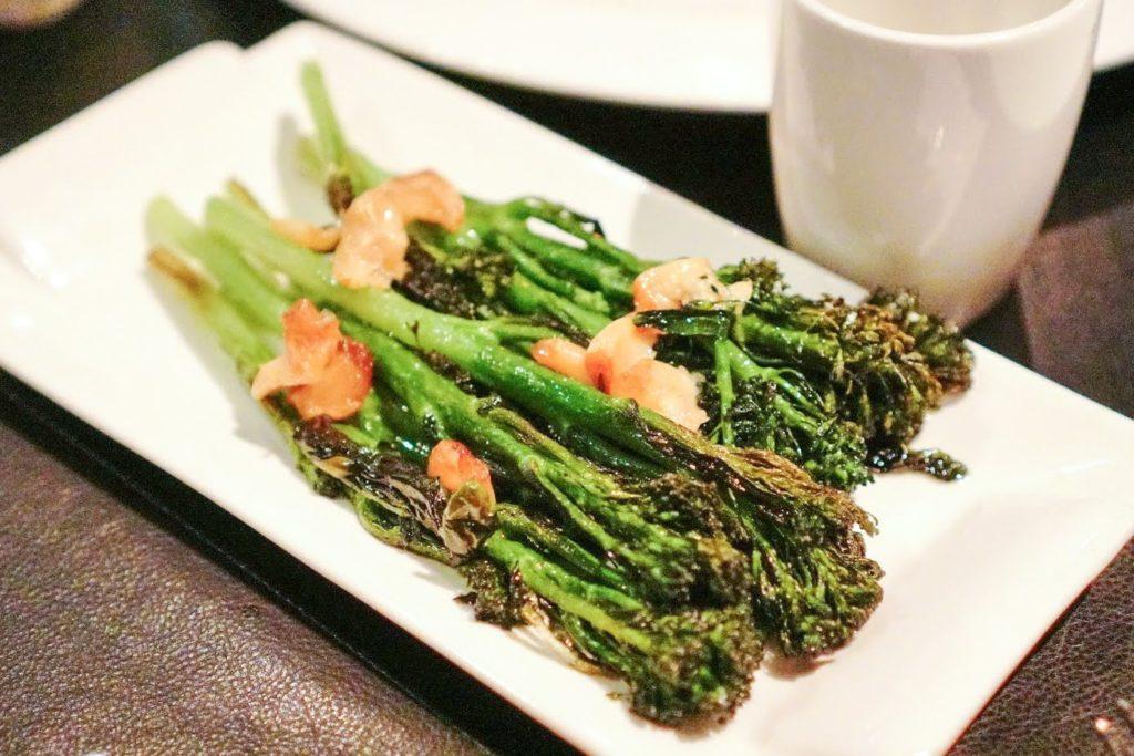 バンコクマリオットホテルスクンビット内のステーキハウス【The District Grill Room & Bar】野菜のグリル