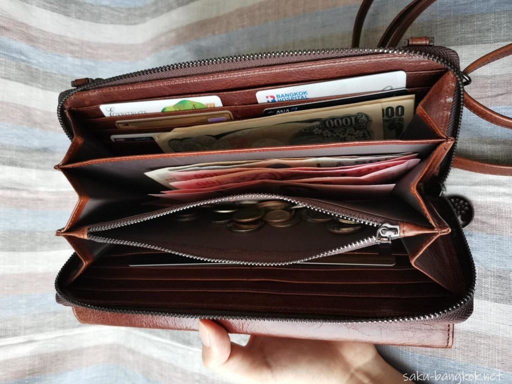 旅にも日常にも。とっても便利な【マリナング】のウォレットバッグ