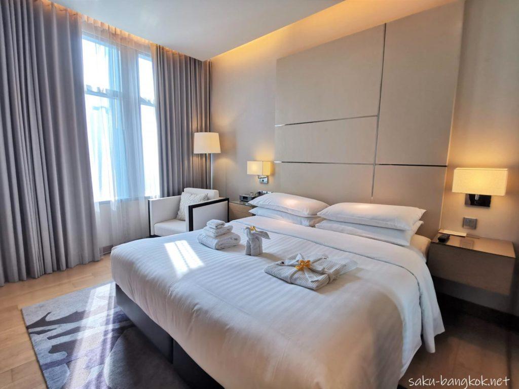 マリオット エグゼクティブ アパートメンツ バンコク スクンビット トンローの部屋(ベッドルーム)