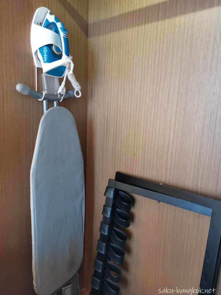 マリオット エグゼクティブ アパートメンツ バンコク スクンビット トンローの部屋(アイロン)