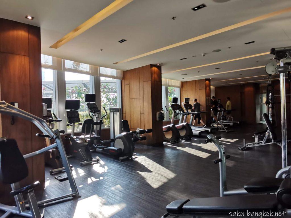 マリオット エグゼクティブ アパートメンツ バンコク スクンビット トンローの部屋(フィットネス)
