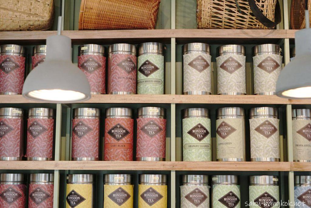 【Monsoon Tea】バンコク・アソーク店の店内