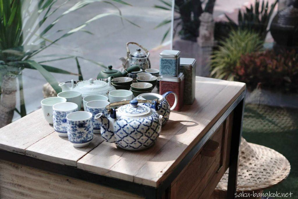 【Monsoon Tea】バンコク・アソーク店の店内インテリア