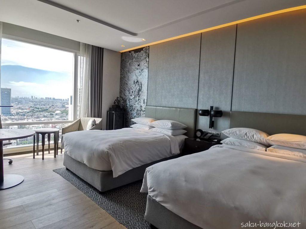 【ホテルレビュー】バンコク・マリオット・ホテル・ザ・スリウォンの部屋