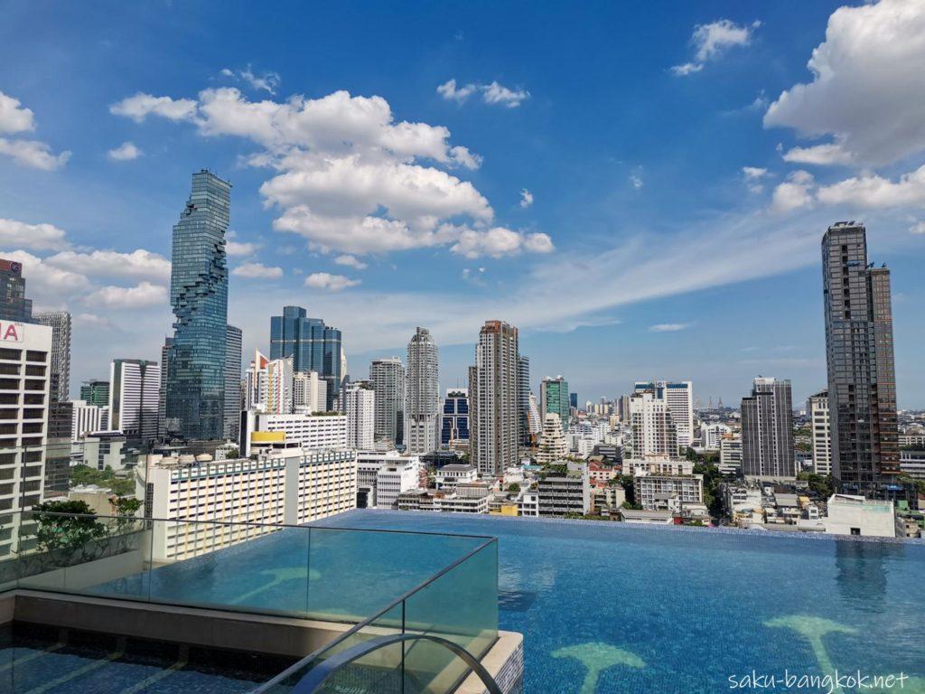 【ホテルレビュー】バンコク・マリオット・ホテル・ザ・スリウォンのプール