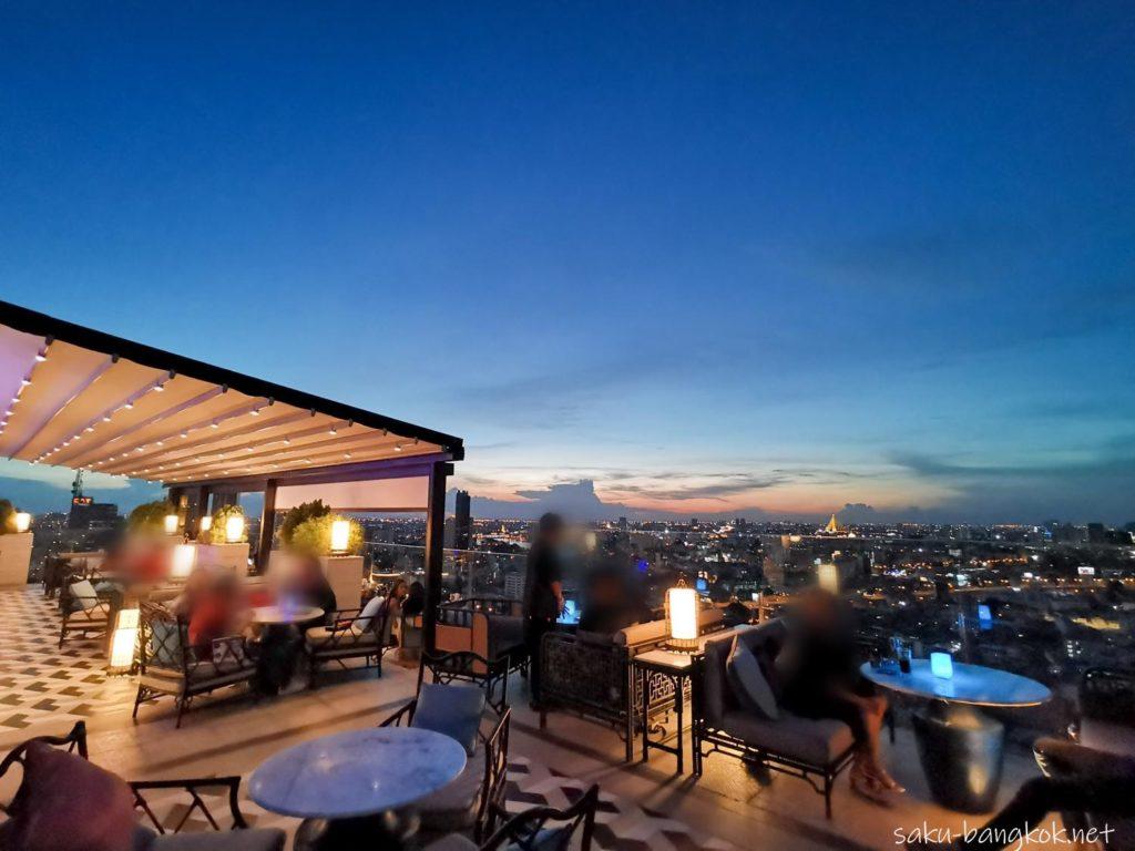 【ホテルレビュー】バンコク・マリオット・ホテル・ザ・スリウォンのルーフトップバー