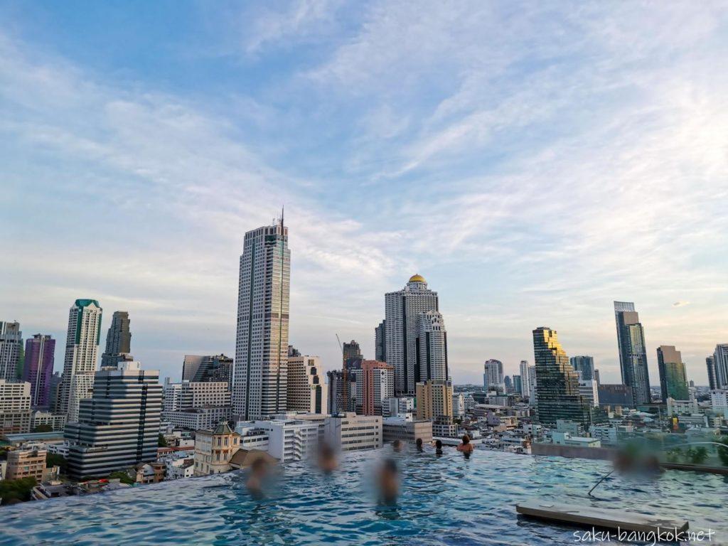 【ホテルレビュー】バンコク・マリオット・ホテル・ザ・スリウォンのインフィニティープール