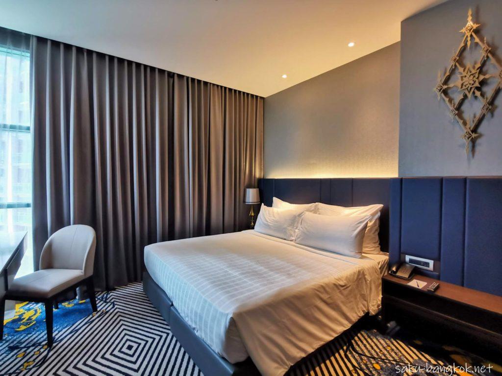 バンコク・チャオプラヤー川沿いコスパ抜群5つ星ホテル【チャトリウム ホテル リバーサイド バンコク】の部屋