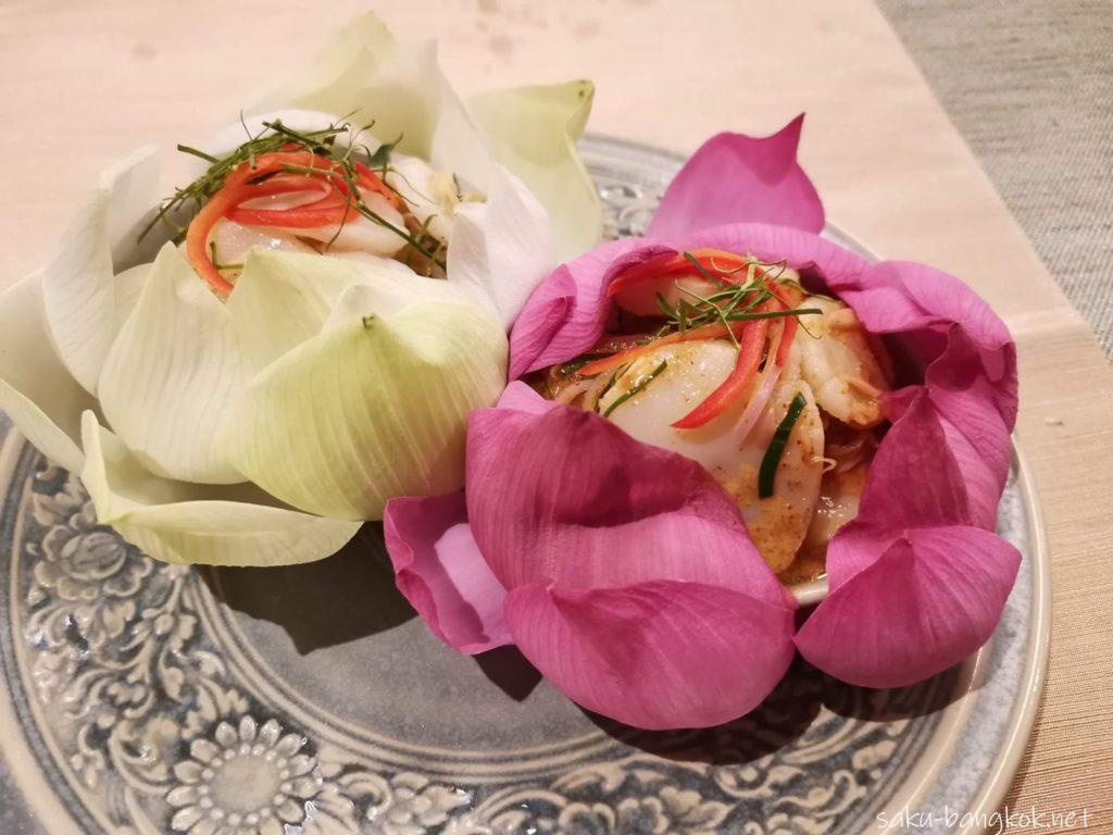 夕食(タイ料理レストラン「Param Para」にて)
