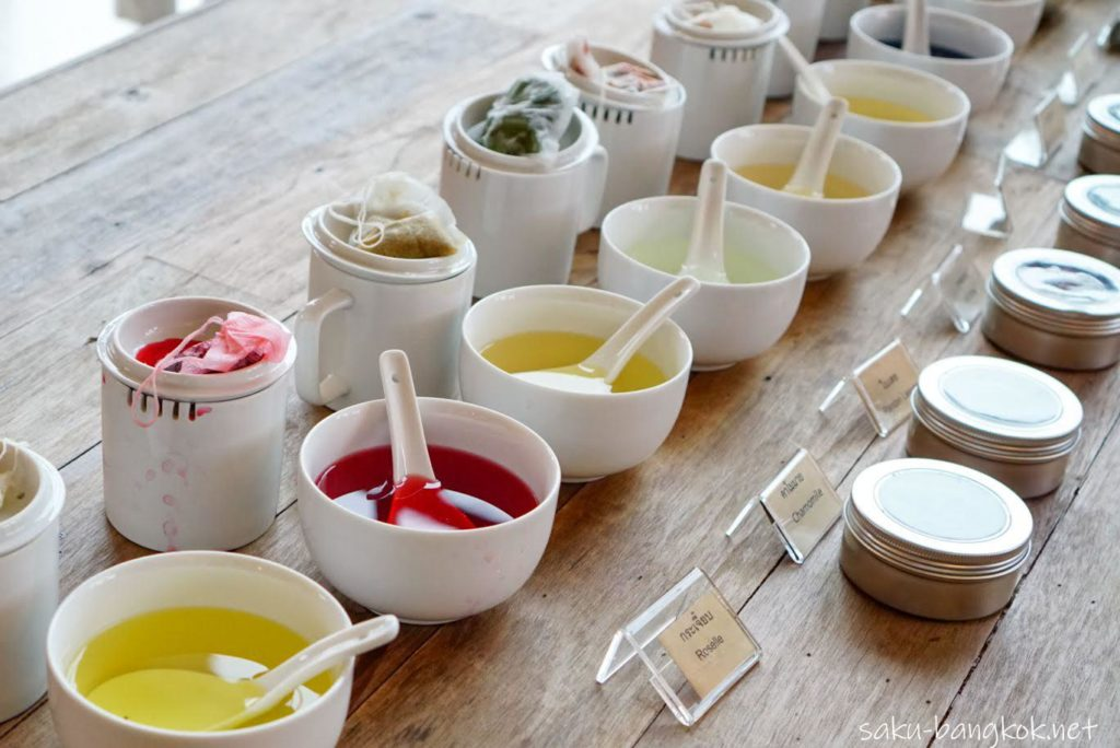 チェンライ お茶のワークショップ
