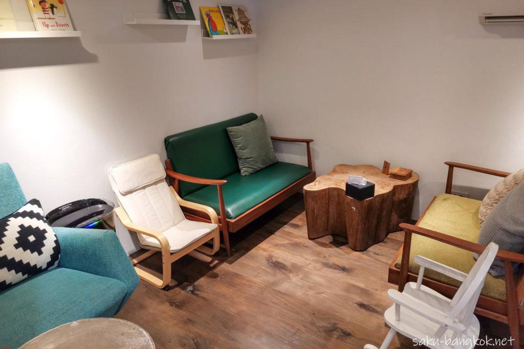 KUSKUSのカフェスペース
